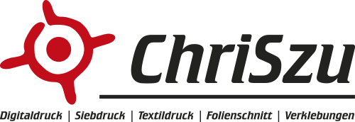 CHRISZU - Digitaldruck - Siebdruck - Textildruck - Stickerei